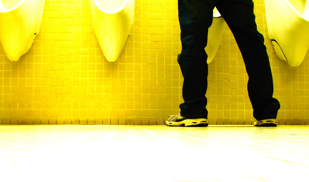 Proper Urinal Etiquette - Meme Guy